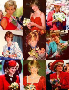 The many aspects of the life of Princess Diana