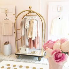 A collection of Blush lifestyle, fashion, boutique photos fr Boutique Design, Boutique Decor, Mobile Boutique, A Boutique, Fashion Boutique, Clothing Boutique Interior, Boutique Ideas, Boutique Stores, Clothing Displays