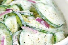 Letní tup: Osvěžující okurkový salát