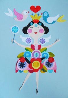 Ellen Giggenbach: Pretty Fairy Paper Cut decoration ჱ ܓ ჱ ᴀ ρᴇᴀcᴇғυʟ ρᴀʀᴀᴅısᴇ ჱ ܓ ჱ ✿⊱╮ ♡ ❊ ** Buona giornata ** ❊ ~ ❤✿❤ ♫ ♥ X ღɱɧღ ❤ ~ Sa 14th Feb 2015
