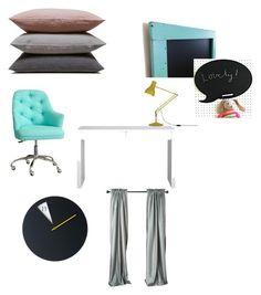 """koncepcja 1"" by magdalena-grycz on Polyvore featuring interior, interiors, interior design, dom, home decor, interior decorating, CB2, Hawkins i Anglepoise"