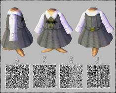 It is a classical dress with a loop tie of a bat # Animal forest  # My design  # Myan QRpic.twitter.com/jEBgiiVvU1 Animal Crossing Wild World, Animal Crossing Guide, Animal Crossing Qr Codes Clothes, Animal Crossing Pocket Camp, Motif Acnl, Bat Animal, Ac New Leaf, Motifs Animal, Dress Codes