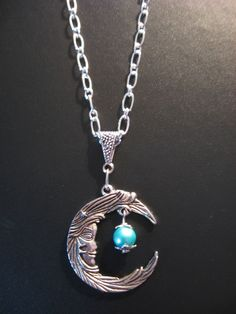 Moon Jewelry Necklace - Moon Necklace - Goddess Necklace.