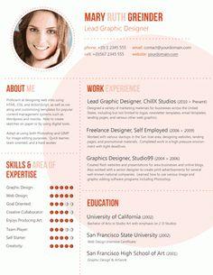 Creative Resumes Gallery | Resume Baker - Part 2