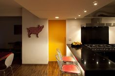 Cozinha assinada por Pascali Semerdjian.