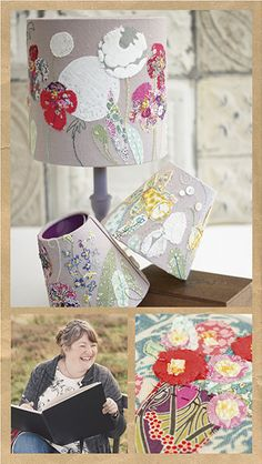 Expert embroidery artist, Marna Lunt, chats to us about her beautiful hand-sewn lampshades and exciting online workshops.