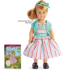 American Girl Doll Be Forever Maryellen Mini Doll