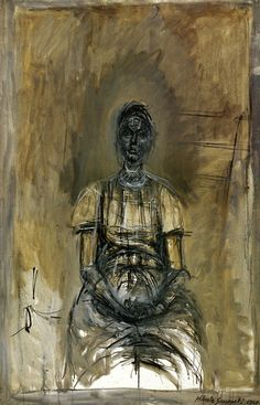 Alberto Giacometti Portrait of Caroline OIL Alberto Giacometti, Giovanni Giacometti, Giacometti Paintings, Figure Painting, Painting & Drawing, Modern Art, Contemporary Art, Art Moderne, Cubism