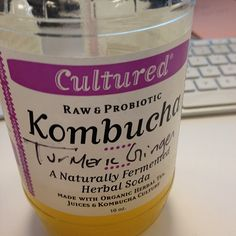 """""""Cultured"""" brand Kombucha via Kombucha Brands, Bottle Packaging, Lotions, Herbalism, Juice, Organic, Food, Design, Herbal Medicine"""