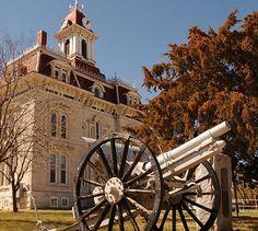Cottonwood Falls courthouse, Kansas Flint Hills