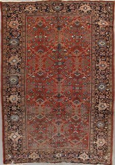 Antique Sultanabad Rug – Circa: 1915 Sizes: 8X11.6