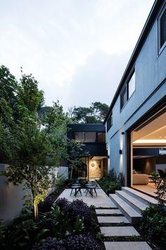 New Zealand Architecture, Residential Architecture, Modern Architecture, Pavilion Architecture, Japanese Architecture, Sustainable Architecture, Landscape Design, Garden Design, House Design