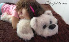 Crochet pattern Plush bear 2 in1