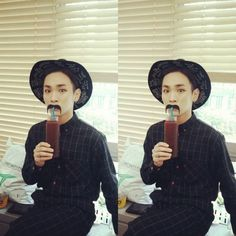 140826 Key instagram update bumkeyk: 무스타싀 Mustache