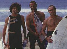 Eddie surfing in the mid 90s