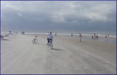 Hilton Head, SC riding on the beach with the wind at your back