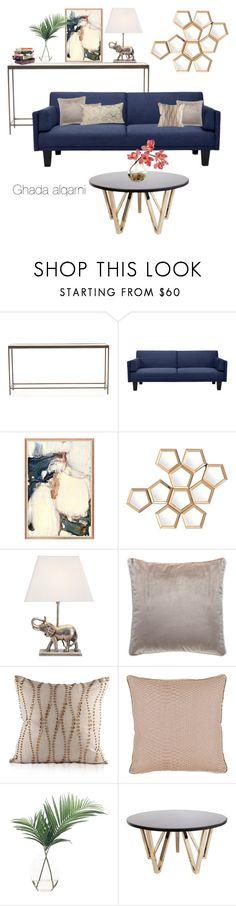 """#home #decore"" by ghadaalqarni on Polyvore featuring interior, interiors, interior design, home, home decor, interior decorating, Mitchell Gold + Bob Williams, Dorel, Eichholtz and NDI"