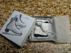 polymer clay ice skates tutorial