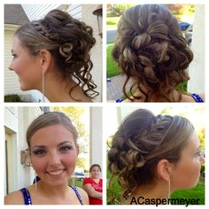 Braided Prom Updo