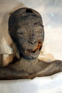 Tut's parents were siblings! DNA confirmed this mummy is both the mother of King Tut and the sister of Tut's father Akhenaten. Her name is unknown.