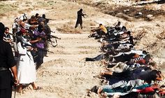 IF this is their horror, then it is our horror in our global world we have a responsibility to do........WHAT?......Mass Executions of 1,500 at a time: UN report confirms ISIS's atrocities