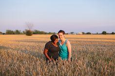 Happy Lesbian Toronto Engagement Photography