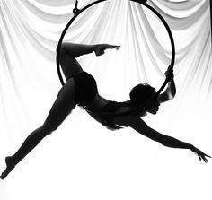 Aerial hoop dance