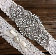 Hey, I found this really awesome Etsy listing at https://www.etsy.com/listing/185474623/wedding-garter-pearl-rhinestone-wedding
