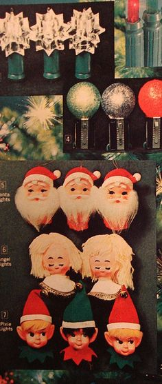 1970 Christmas catalog - decorations