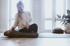 Australian made eco friendly meditation cushion/ floor cushion. Meditation Cushion, Home Health, Floor Cushions, Health And Wellbeing, Own Home, Home And Living, Eco Friendly, Mandala, Relax