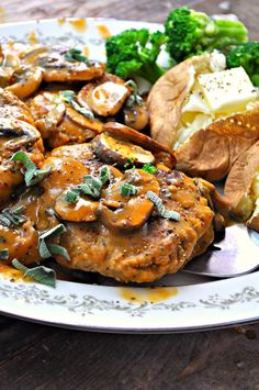 Lentils perfectly mimic steak in my vegan take on Salisbury steak with mushroom gravy. It is so delicious, easy and filled with protein.