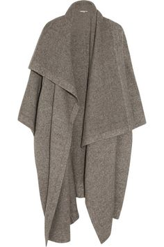 Shop on-sale Stella McCartney Draped knitted blanket coat. Browse other discount designer Coats & more on The Most Fashionable Fashion Outlet, THE OUTNET. Stella Mccartney Jeans, Robes Tutu, Blanket Coat, Oversized Coat, Knitted Blankets, Baby Blankets, Fashion Editor, Daily Fashion, Mode Style