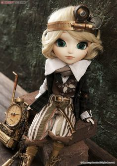 Pullip Dolls in Singapore! Authorised Dal, Taeyang, Pullip and Byul Dolls in Asia, South-East Asia. Steampunk City, Steampunk Dolls, Steampunk Octopus, Steampunk Cosplay, Gothic Dolls, Pretty Dolls, Beautiful Dolls, Elves Fantasy, Angelic Pretty