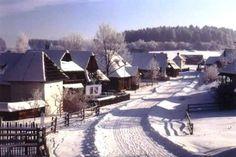 Museum of Slovak village in winter, Martin Heart Of Europe, Bratislava, Capital City, Snow, Country, Travel, Outdoor, Beautiful, Folk Art