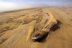 Namib desert shipwreck