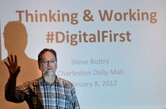 I lead workshops in Digital First journalism for newsrooms across the country.
