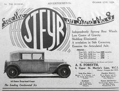 Steyr, Advertising, Cars, Economics, Vehicles, Autos, Car, Automobile
