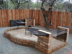 Boma Braai | Ideas for the House | Backyard cottage, Fire ... on Boma Ideas For Small Gardens id=29012