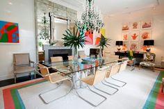 Outstanding eclectic interiors in Tvoy Designer Blog #eclectic #interior #design