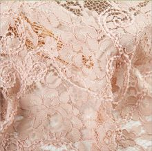 Free shipping! 2015 high quality Women Nylon lace fabric beads lace embroidered(China (Mainland))