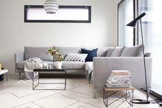 Gloria – Blogit | Pieni talo Helsingissä – Muistellaanpa vuotta 2016 kuukausi kuukaudelta Scandinavian Living, Couch, Living Room, Decoration, Furniture, Home Decor, Decor, Settee, Decoration Home