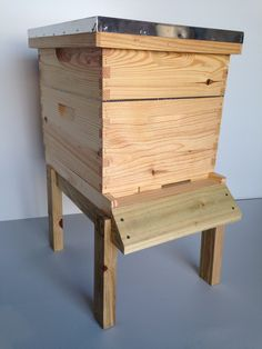Get your Hive Set, 1 Brood Chamber, Queen Excluder, Medium Honey Box, Telescoping Cover, Inner Cover, Bottom Board and Frames with Foundation!