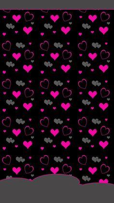 Resultado de imagen de imagenes de fondo para whatsapp de corazones