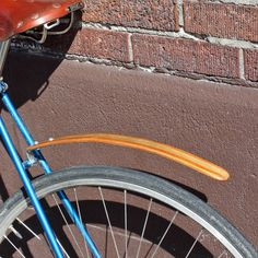 Free advice on how to fix your bicycle: WOOD BICYCLE FENDERS