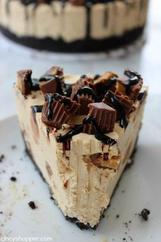 No Bake Reese's Peanut Butter Cheesecake - CincyShopper