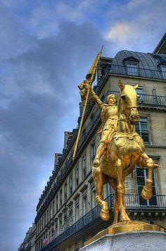 Jeanne d'Arc, Paris Yves MARQUE - Google+