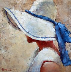 Galleries in Carmel and Palm Desert California - Jones & Terwilliger Galleries -Andre kohn Painting People, Woman Painting, Figure Painting, Pictures To Paint, Art Pictures, Pintura Country, Abstract Portrait, Painting Inspiration, Female Art