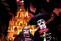 SAN MIGUEL DE ALLENDE, Mexico – Old traditions meet new celebrations and the living honor the dead at La Calaca, a four-day festival debuting this year.