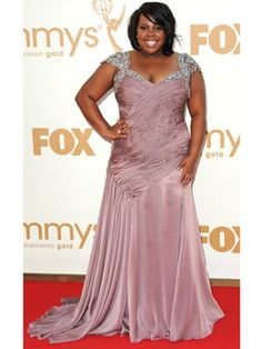 Amber Riley's amazing princess dress would be PERFECT for prom!