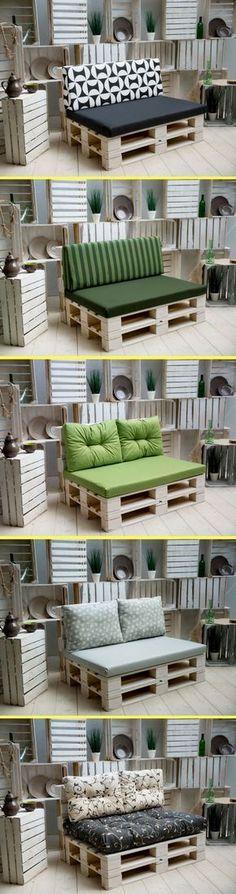 ▷1001+ idées pour fabriquer un banc en palette charmant Pallets - plan pour fabriquer un banc de jardin